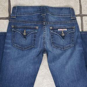 Hudson Signature Midrise Boot Cut Jeans 27